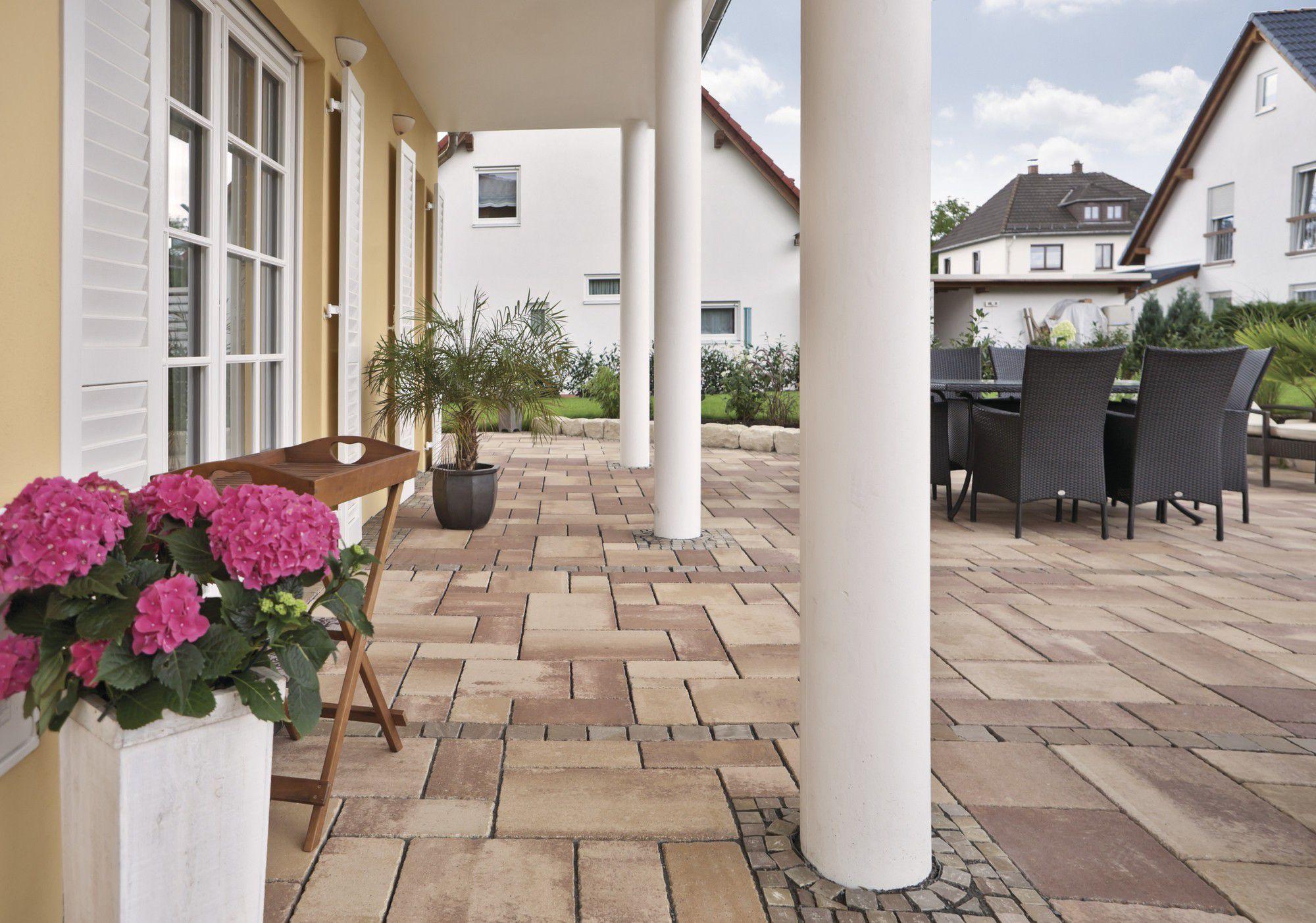 Pavimenti rustici da esterno: pavimento effetto rustico cementine ...