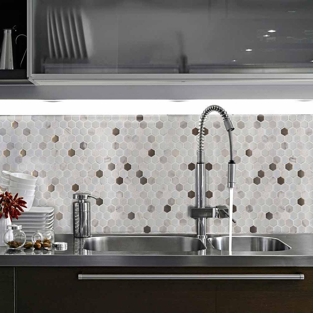 Riparazione dell\'appartamento, casa: Mosaico cucina