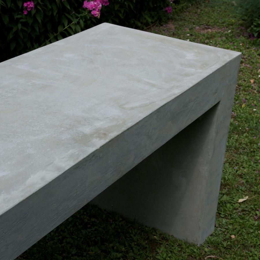 Tavoli Cemento Da Giardino.Tavolo Moderno In Cemento Rettangolare Da Giardino Basic 8
