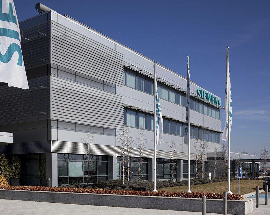 Foto Ufficio Moderno : Edificio prefabbricato in calcestruzzo per ufficio moderno