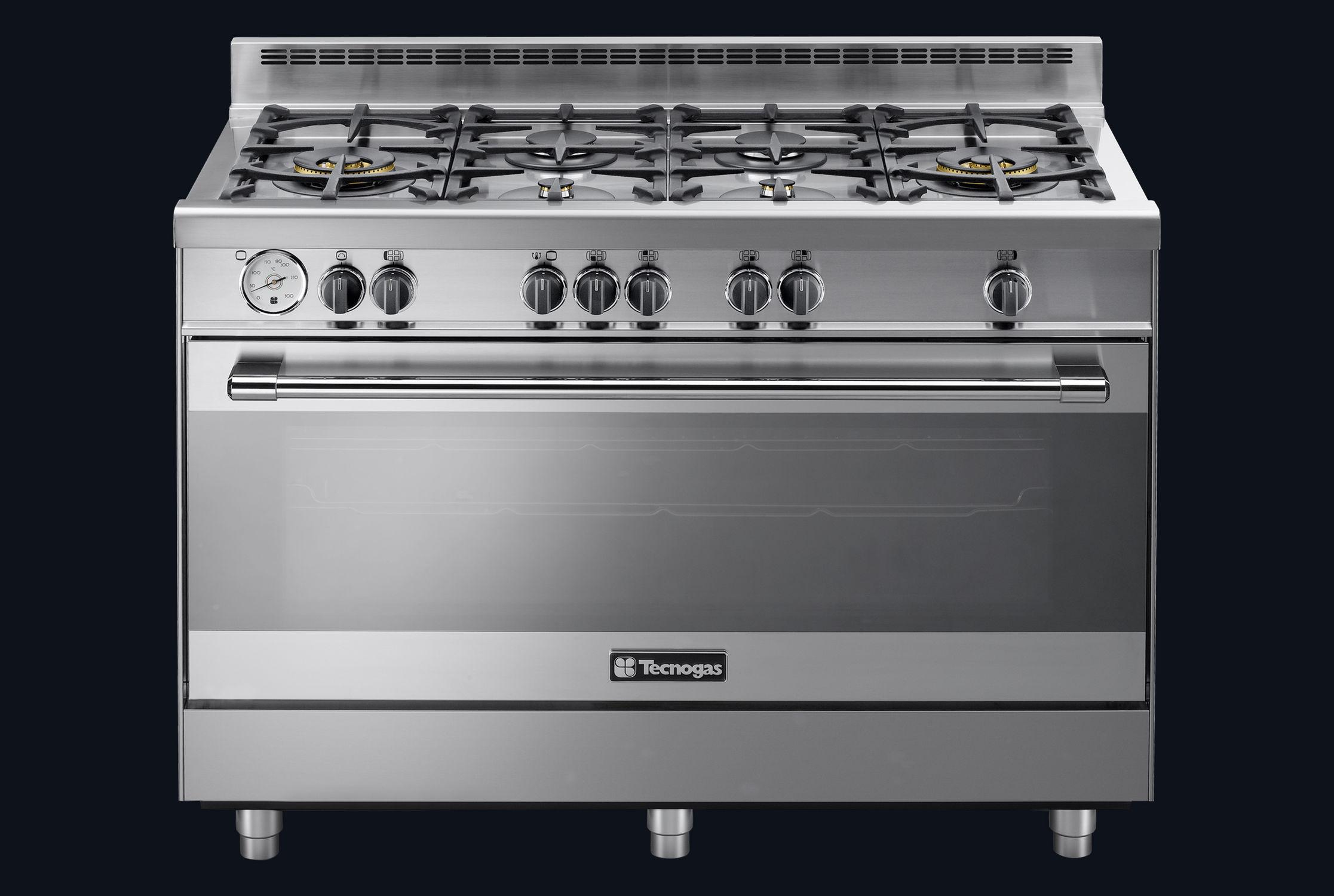 Blocco cucina a gas in ghisa wok pro stretch tecno spa