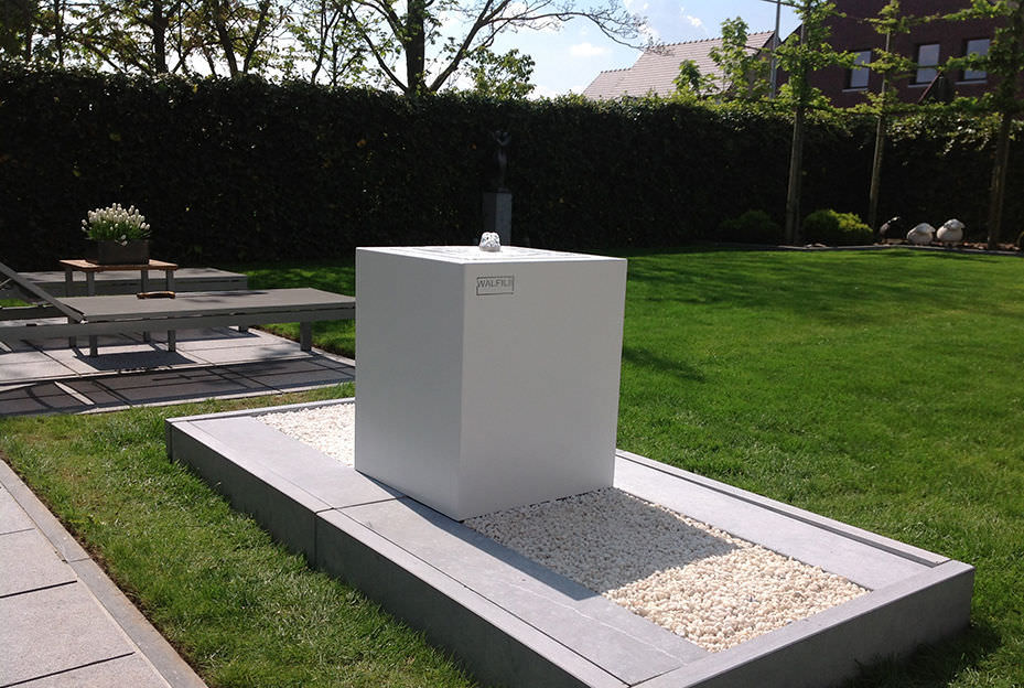 Fontana da giardino / pubblica / in acciaio inox - WALFiLii