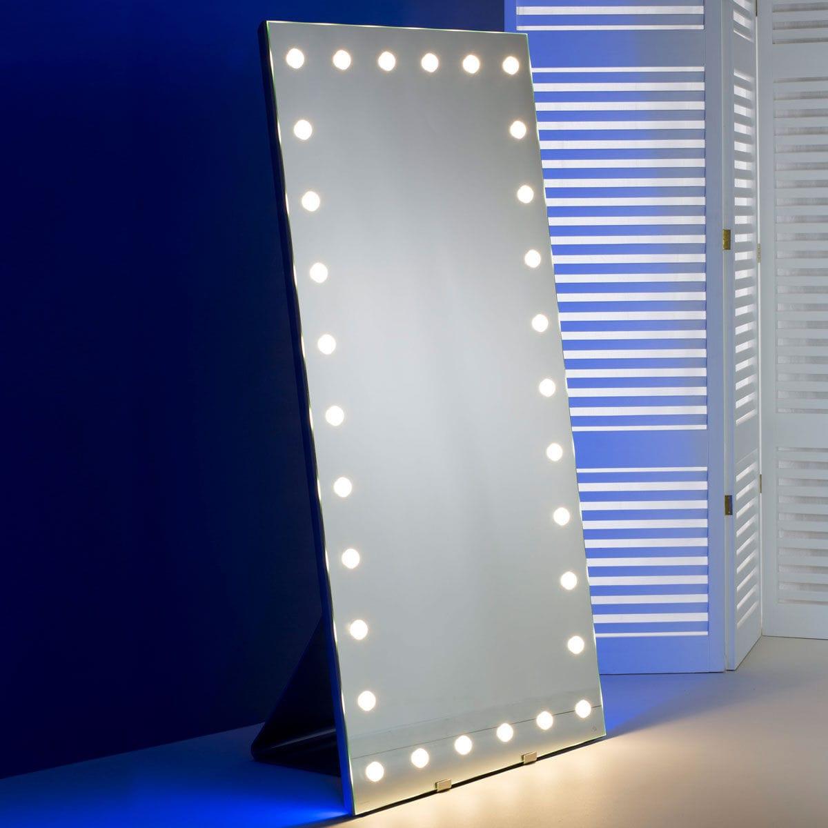 Specchio da terra / luminoso / da sala / per camera da letto - MH09 ...