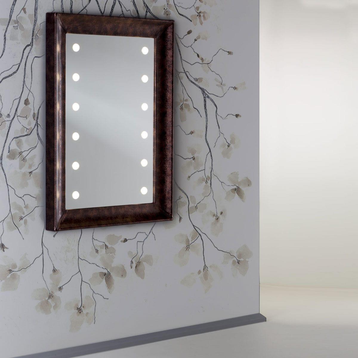 Specchio a muro / luminoso / da sala / per camera da letto - MF 365A ...
