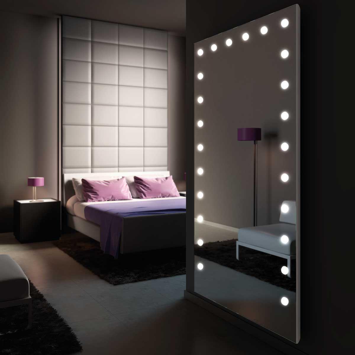 Letto Da Muro.Specchio A Muro Luminoso Da Sala Per Camera Da Letto Mh05