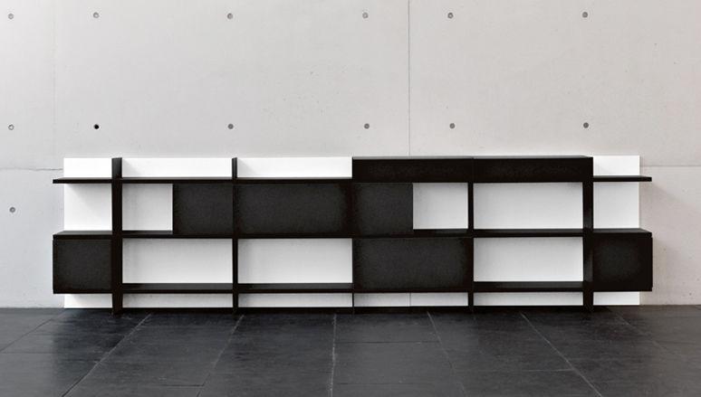 Libreria Ufficio Bassa : Libreria bassa moderna contract per ufficio ku by francesc