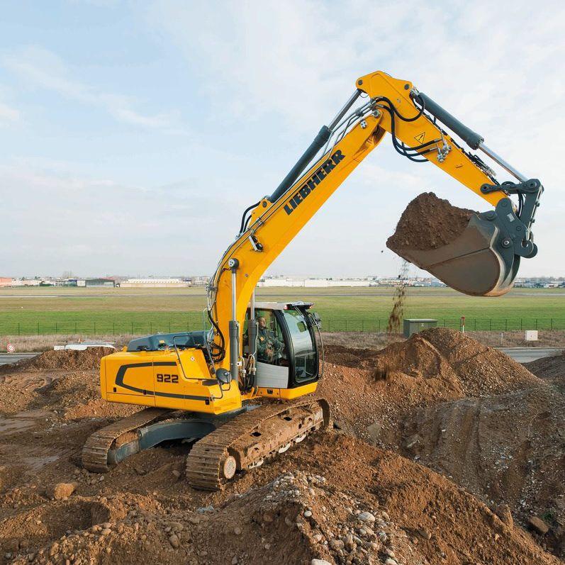 liebherr escavatore  Escavatore intermedio / cingolato / per demolizione / per cantiere ...