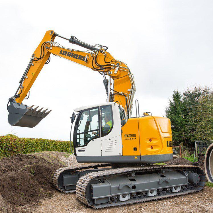 liebherr escavatore  Escavatore intermedio / cingolato / compatto / per cantiere - R 926 ...