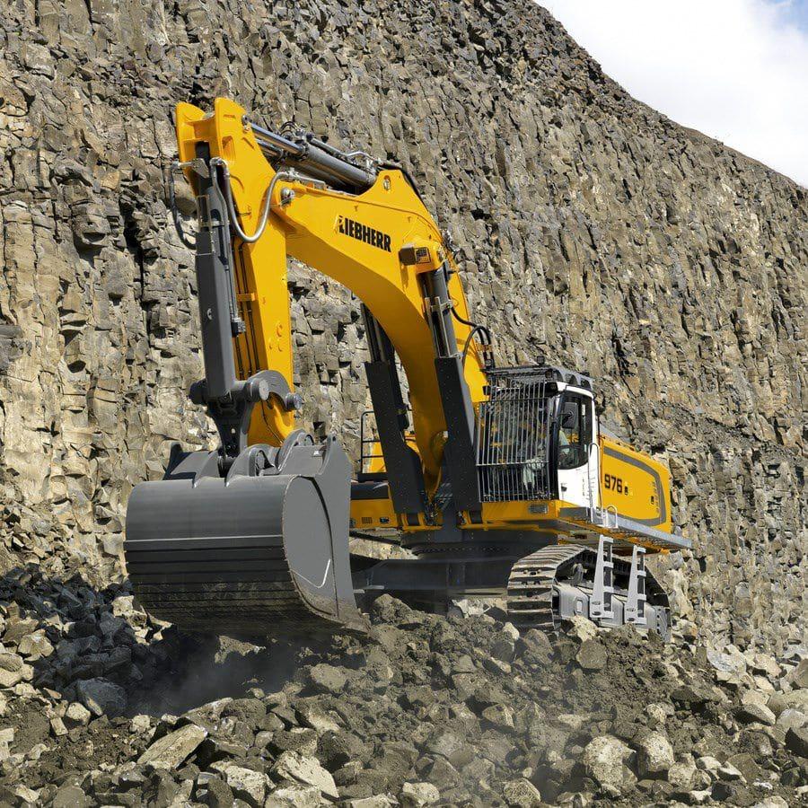 liebherr escavatore  Escavatore cingolato / per cantiere / diesel / Tier 4 - R 976 ...