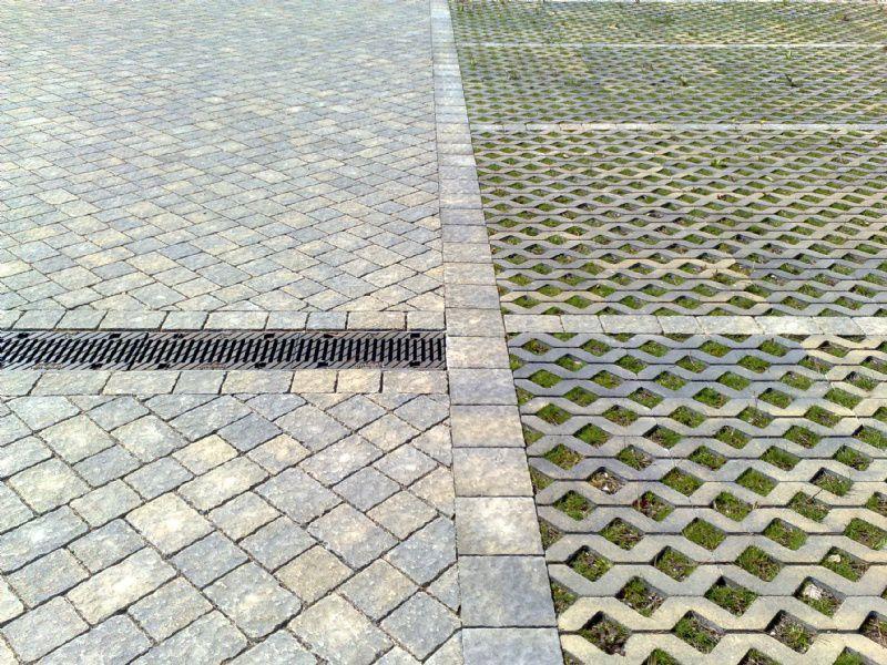 Pavimentazione Drenante Da Giardino : Pavimentazione in calcestruzzo carrabile drenante da esterno