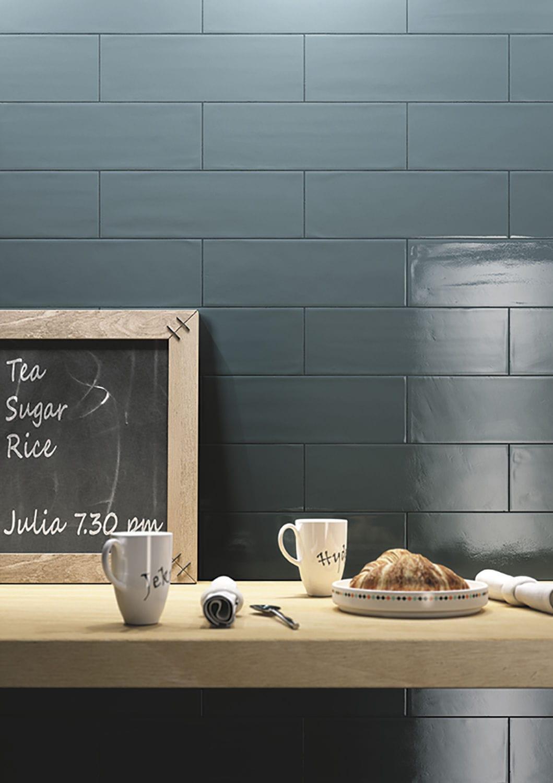 Piastrella da bagno / da cucina / da parete / in ceramica - BRICK ...