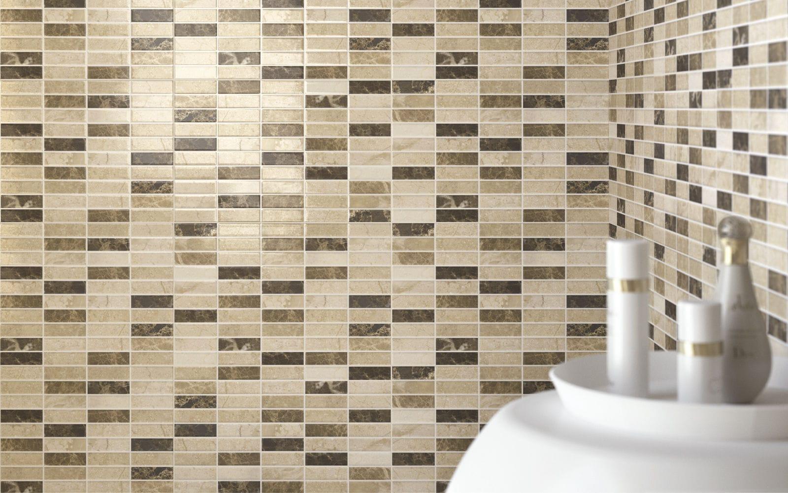 mosaico da bagno da cucina da parete in ceramica game ragno