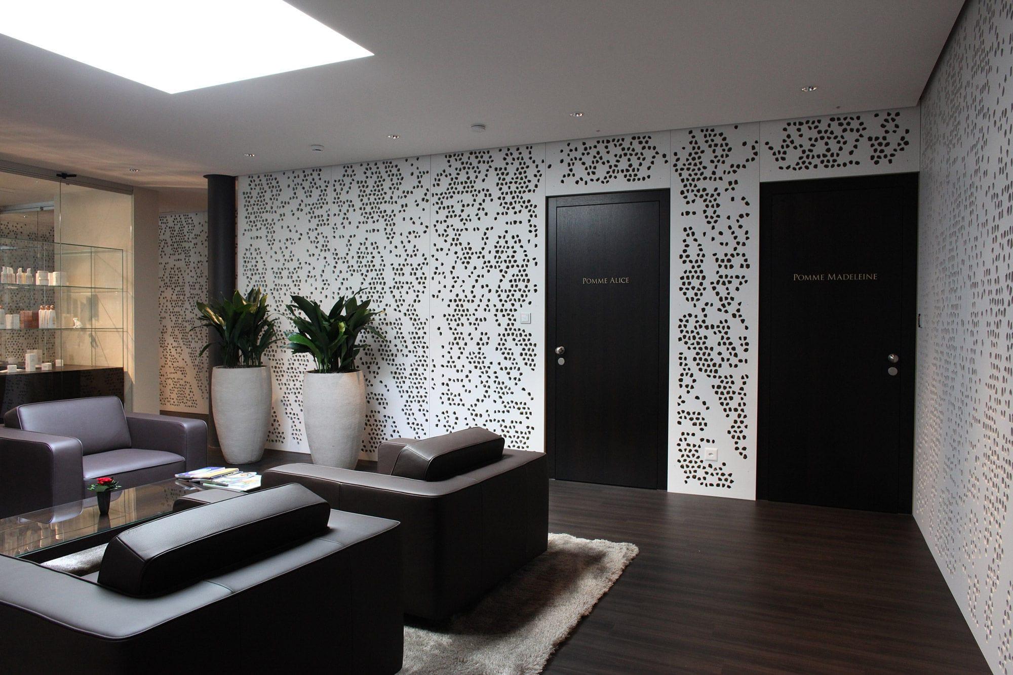 Pareti Di Legno Per Esterni : Pannello decorativo paravista in fibra di legno per parete per