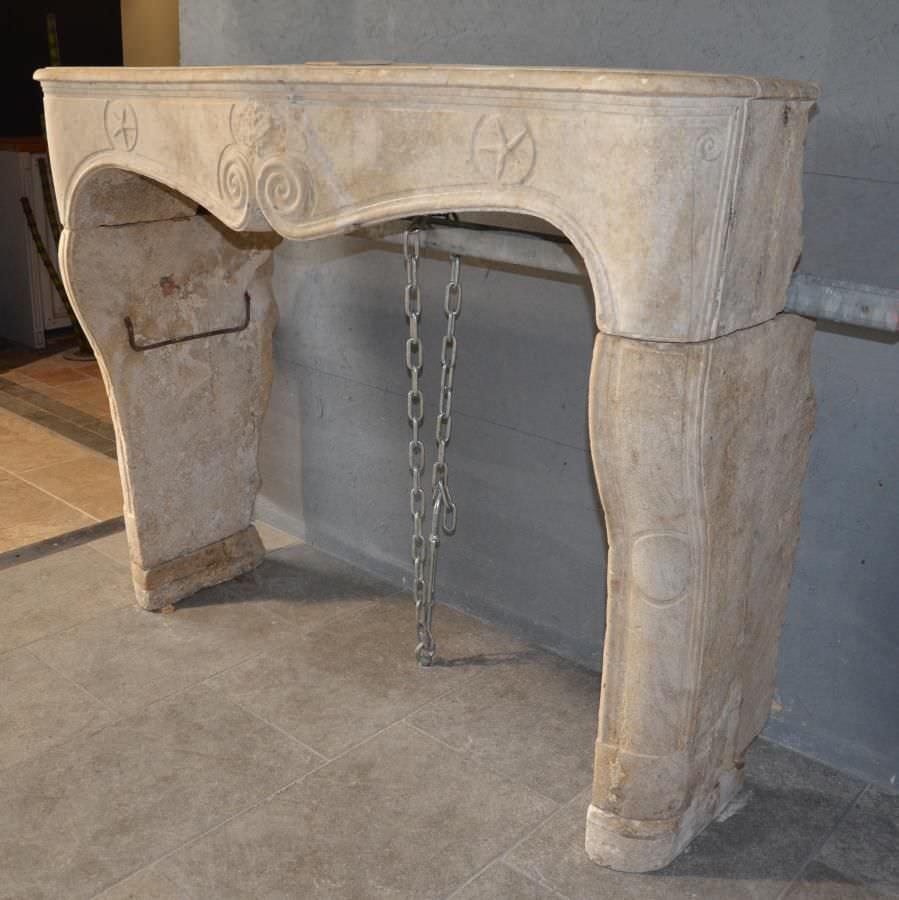 Rivestimento per camini in stile luigi xiv / in marmo / in pietra ...