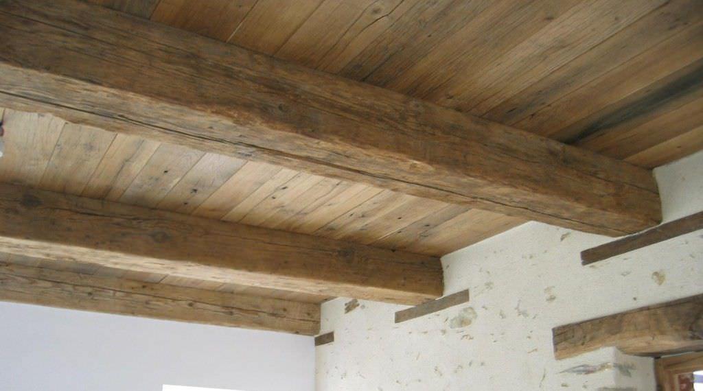Costo Travi In Legno Per Soffitto : Trave in legno massiccio rettangolare per solaio bca