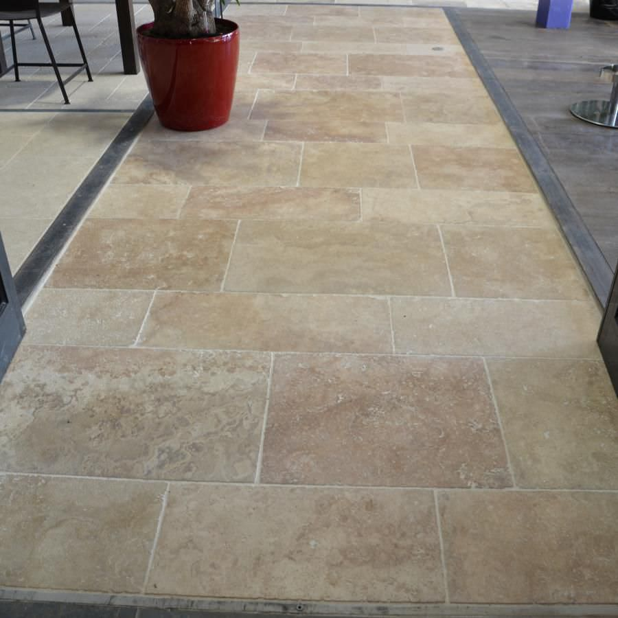 travertino pavimento prezzi: foto palladiana di marmo a prezzo ... - Pavimenti In Travertino