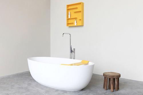 Vasca Da Bagno E Ciclo : Vasca da bagno da appoggio ovale in solid surface loop