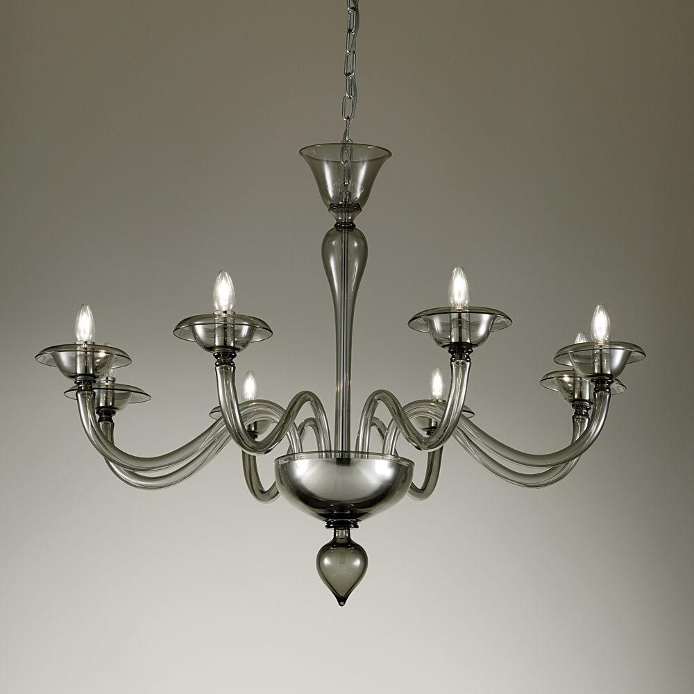Lampadario in stile / in vetro soffiato / in vetro di Murano / LED ...