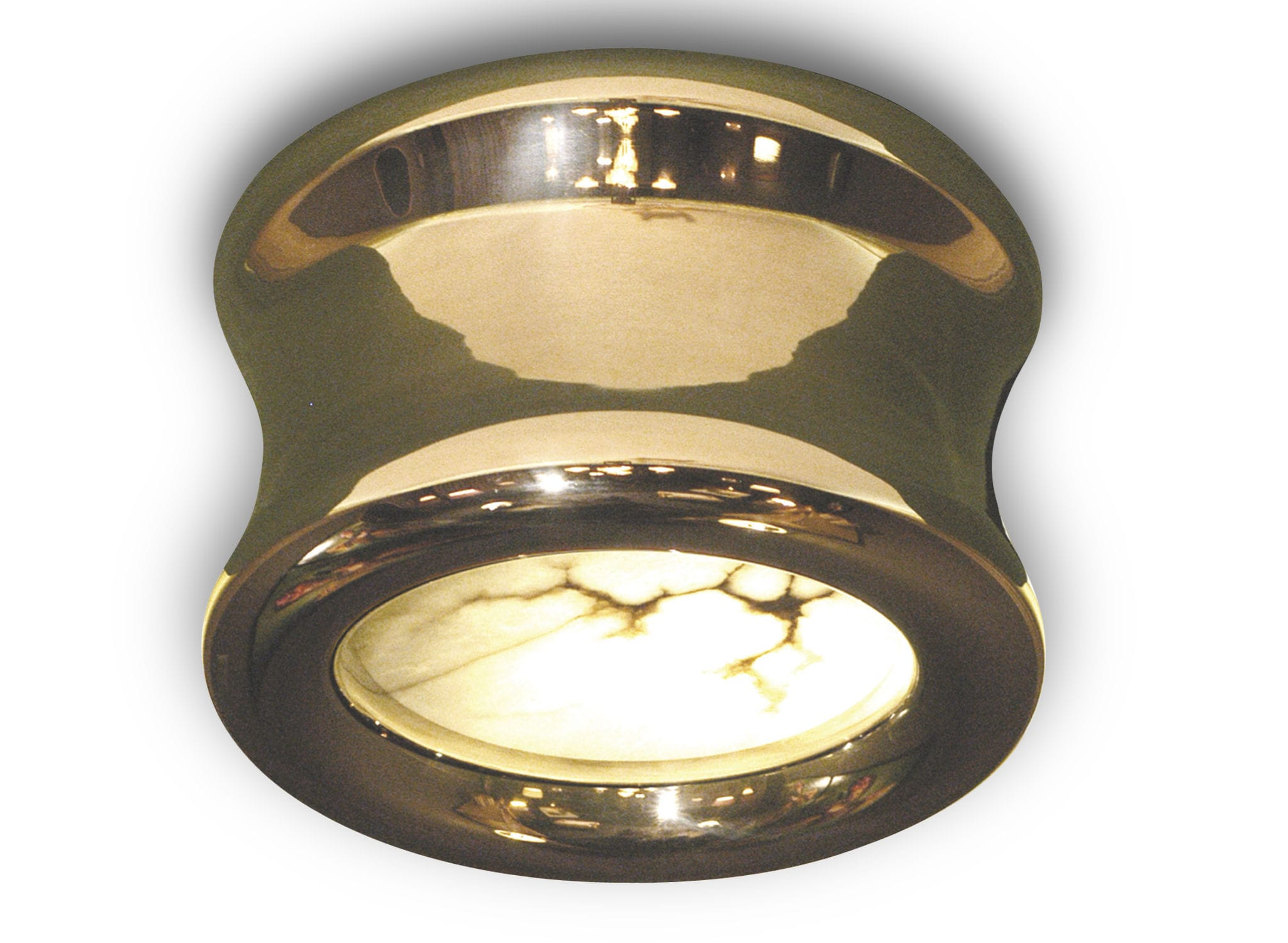 Plafoniere Tonde Da Interno : Plafoniera moderna tonda in metallo da interno roshaan i