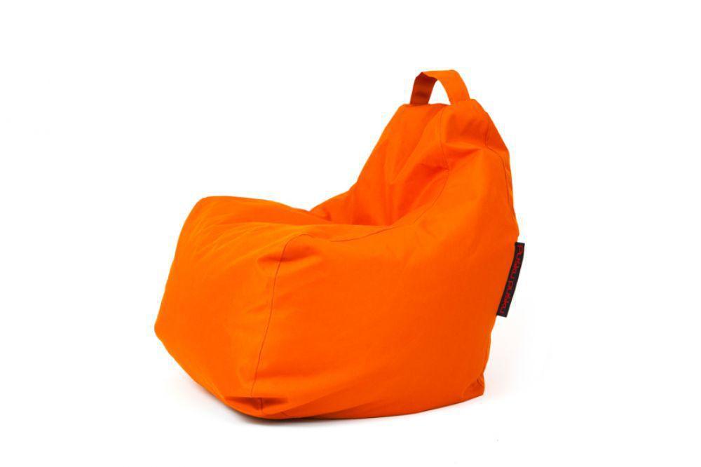 Poltrona a sacco moderna in tessuto in polistirene per bambini