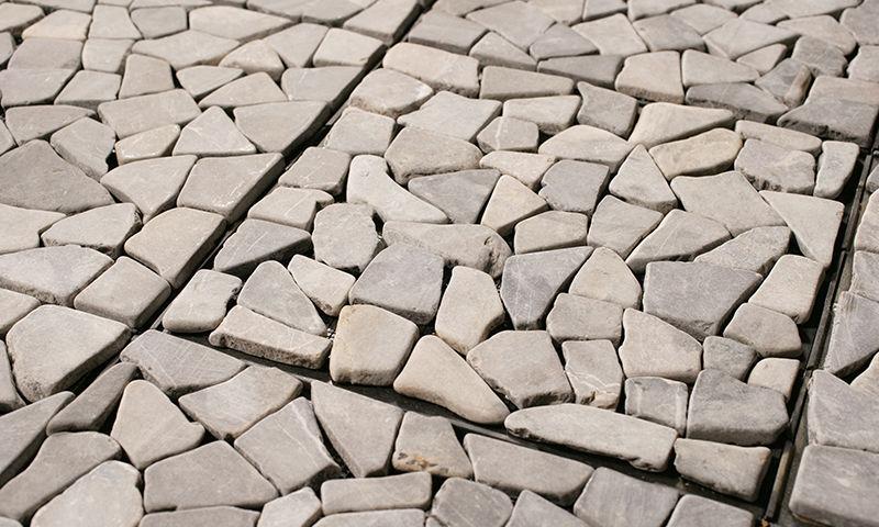 Piastrella da esterno da pavimento in cemento a tinta unita