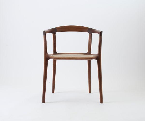 Sedia moderna / con braccioli / legno - DC10 by Inoda+Sveje ...