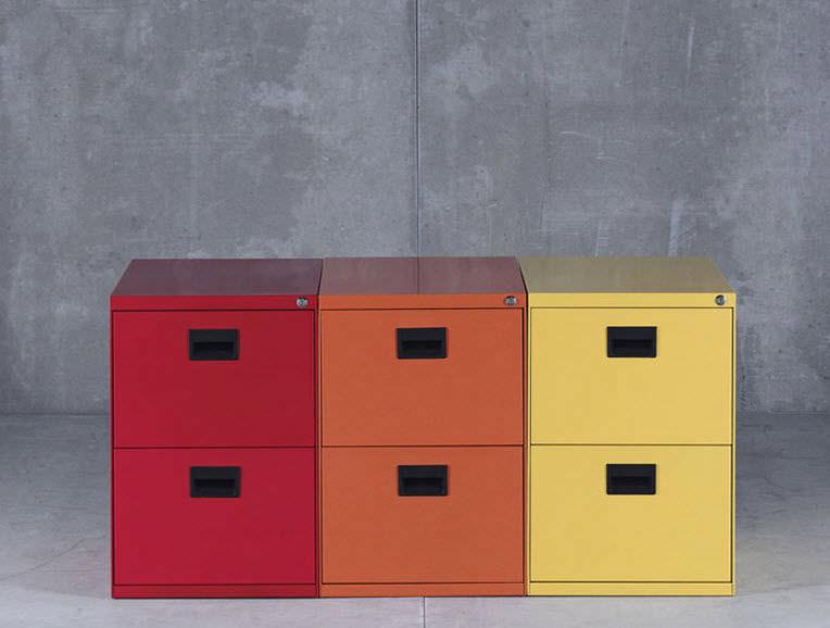 Ufficio Zen Zen : Cassettiera per ufficio in metallo cassetti con rotelle
