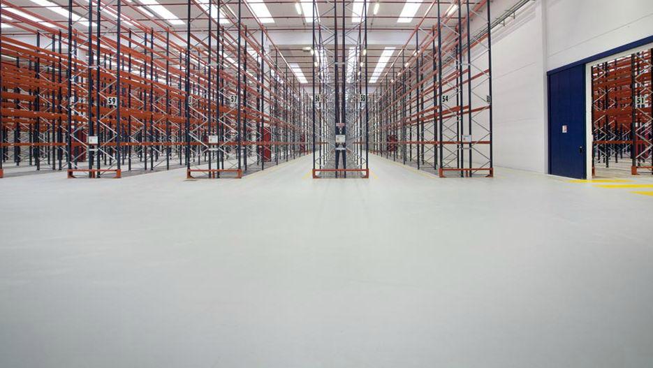 Pavimenti In Cemento Industriale : Pavimento in cemento in resina in poliuretano per uso