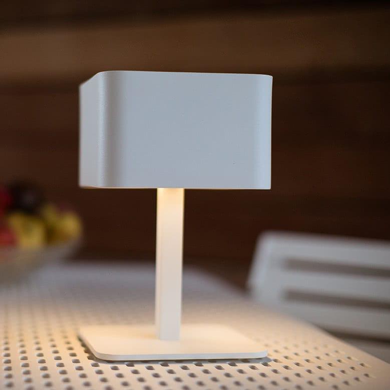 Lampada da tavolo / moderna / in alluminio anodizzato / senza fili ...