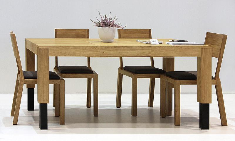 Tavolo da pranzo / rettangolare / moderno / in legno - ROBO ...