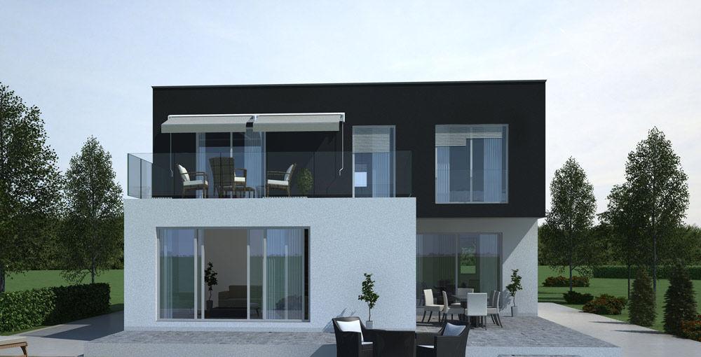 Casa Prefabbricata Design : Casa prefabbricata moderna con struttura in legno in