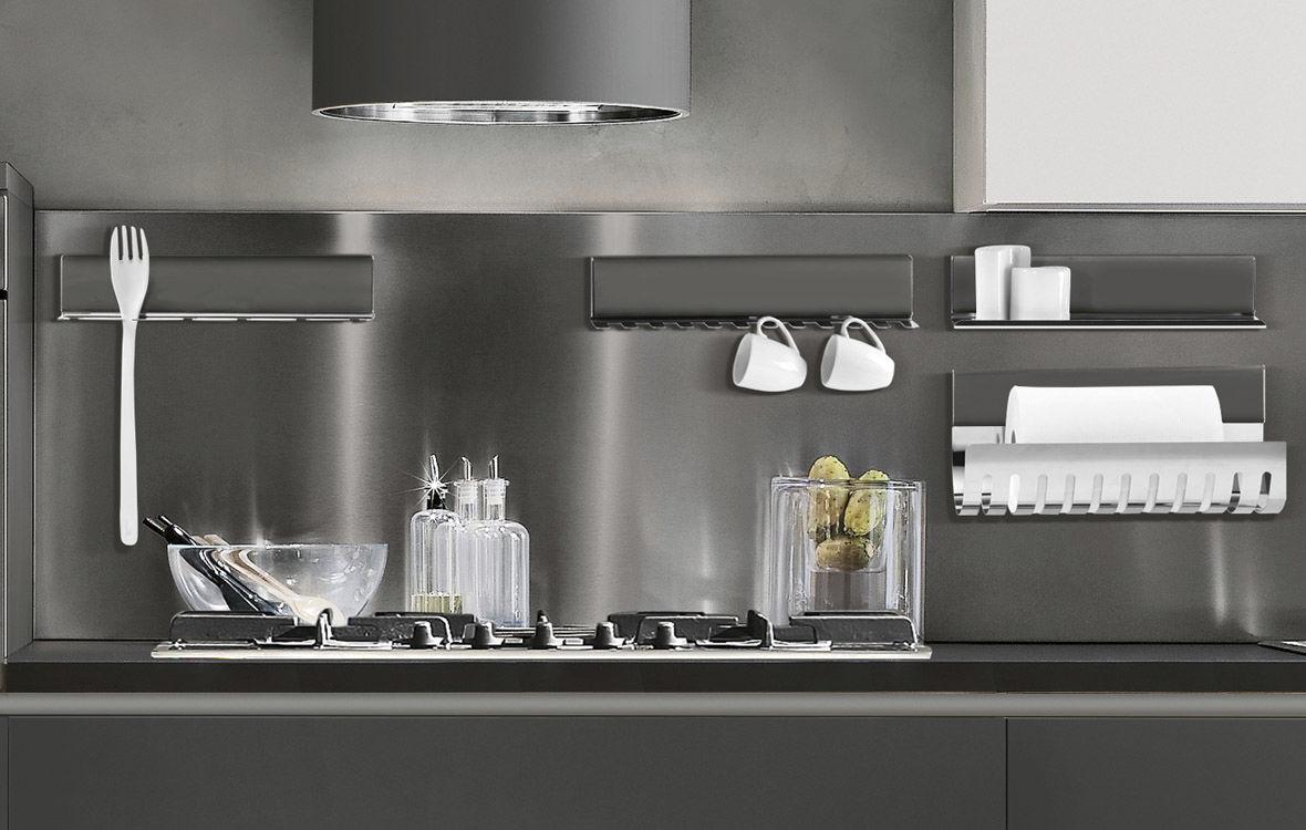 Mensola / moderno / in alluminio / in acciaio inossidabile ...