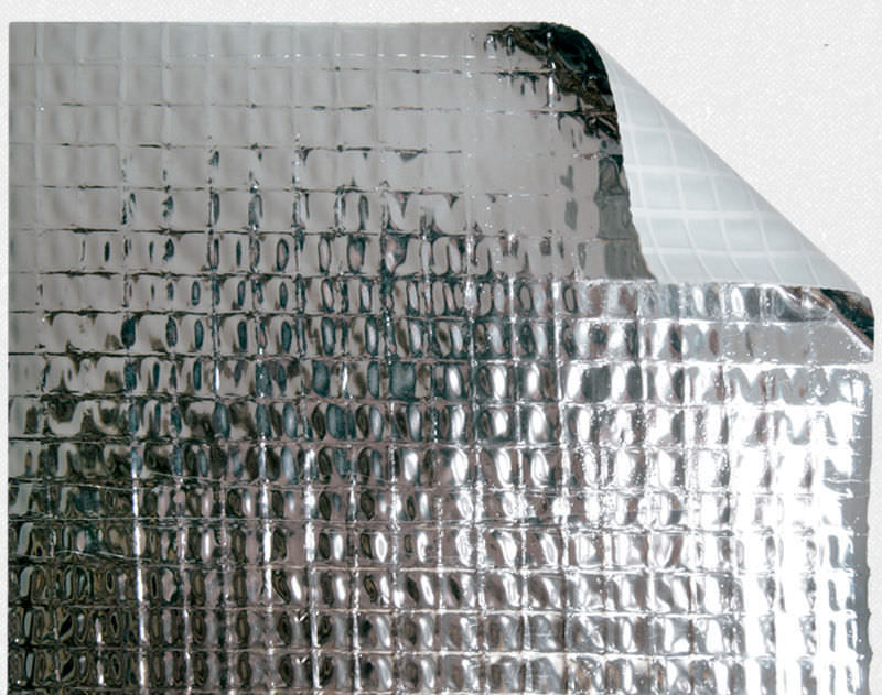 Barriera Al Vapore In Polietilene In Alluminio Per Tetto