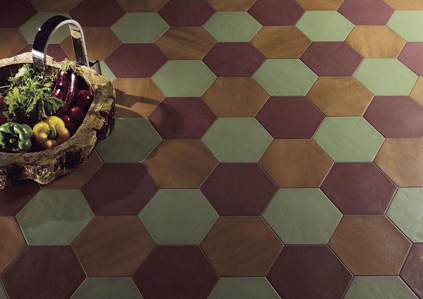 Piastrella esagonale da parete in ceramica konzept valmori