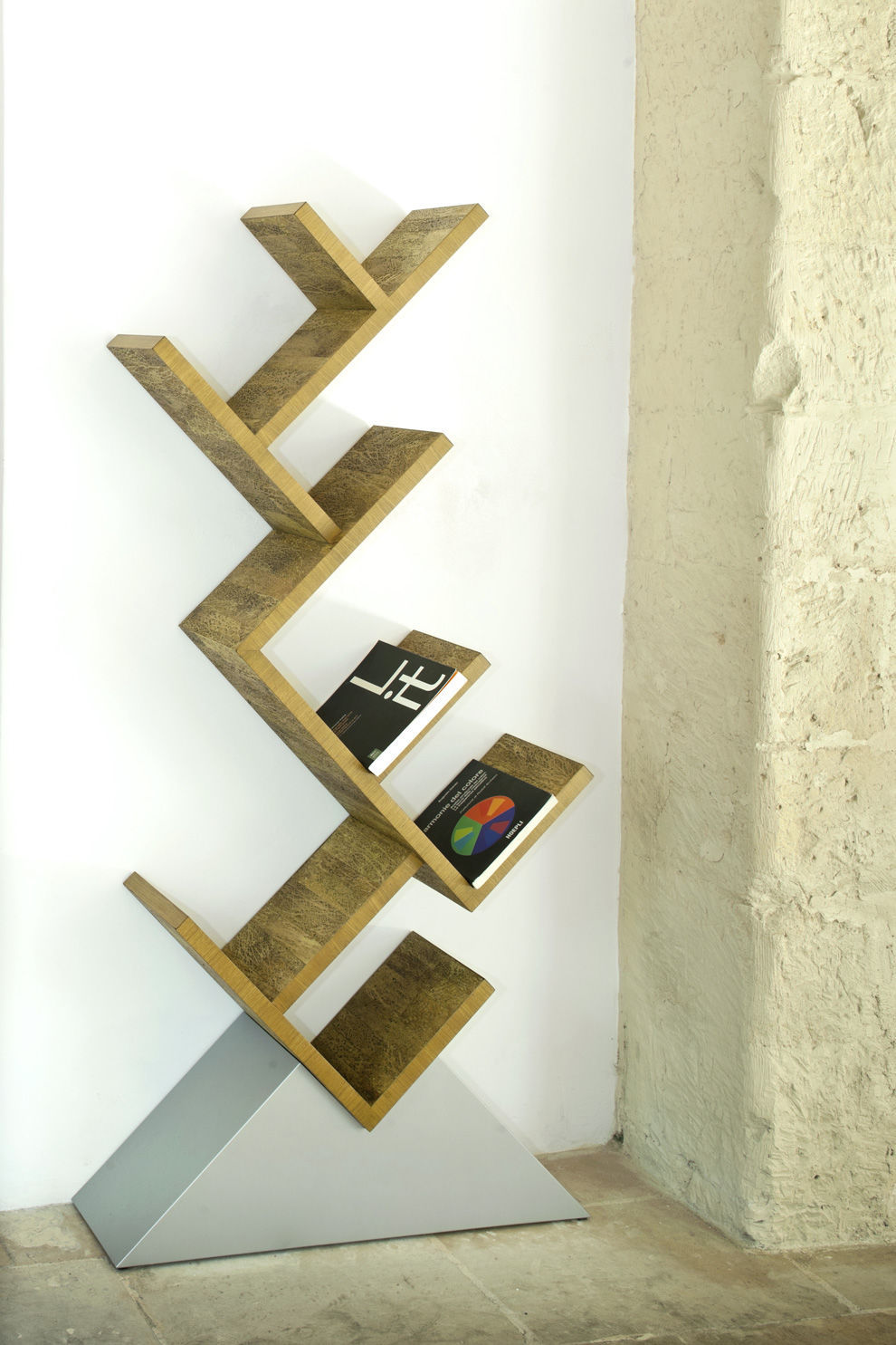 Libreria design originale / in legno / in legno massiccio - ALBERO ...