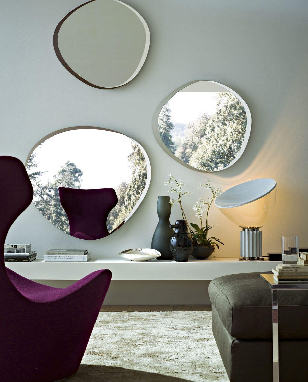Specchi Moderni Senza Cornice.Specchi Moderni Senza Cornice Idee Immagine Di Decorazione