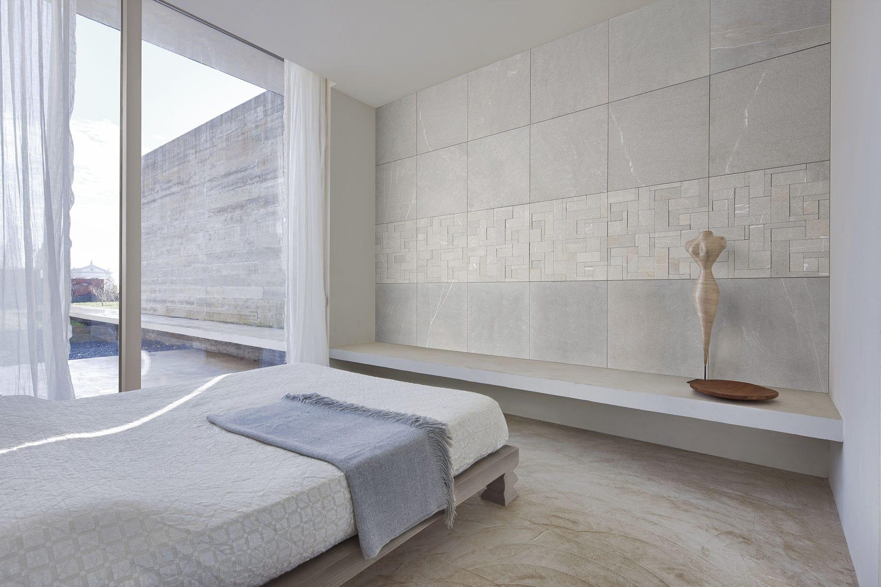 Piastrella per interni da parete in pietra naturale levigata