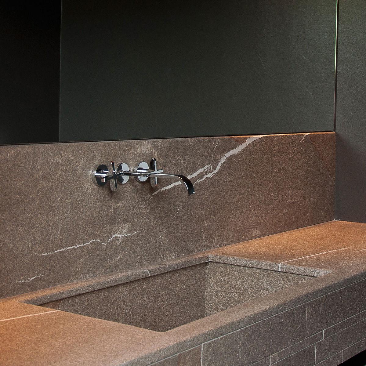 Piano lavabo in pietra - TOP BAGNO - millimetri4 s.r.l.