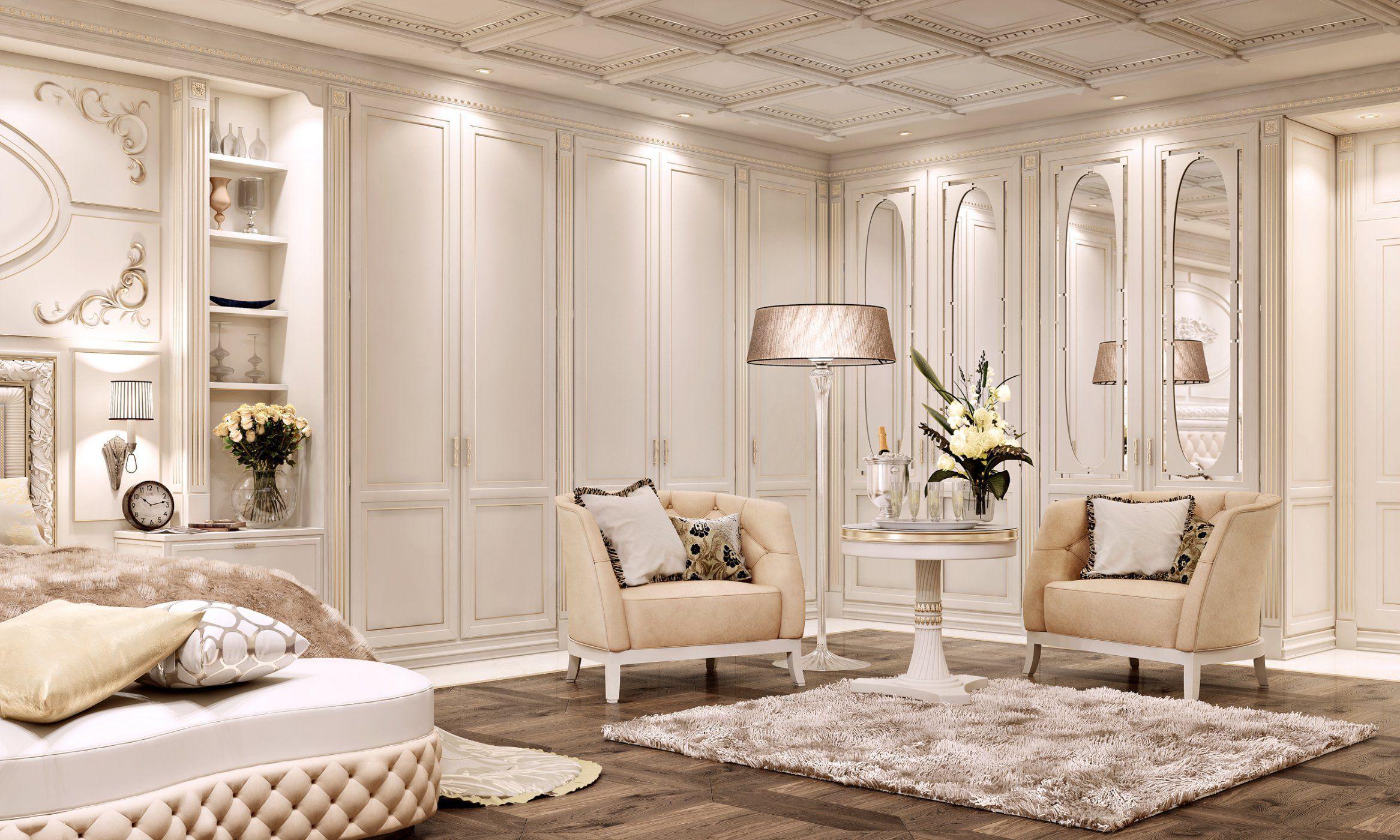 Armadio da parete / classico / in legno / in legno laccato ...