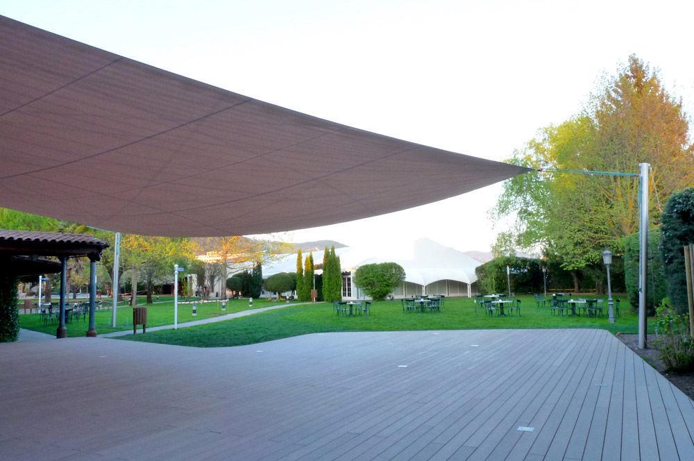 Tenda A Vela Quadrata : Vela ombra ombreggiante ombrellone telo quadrata copertura