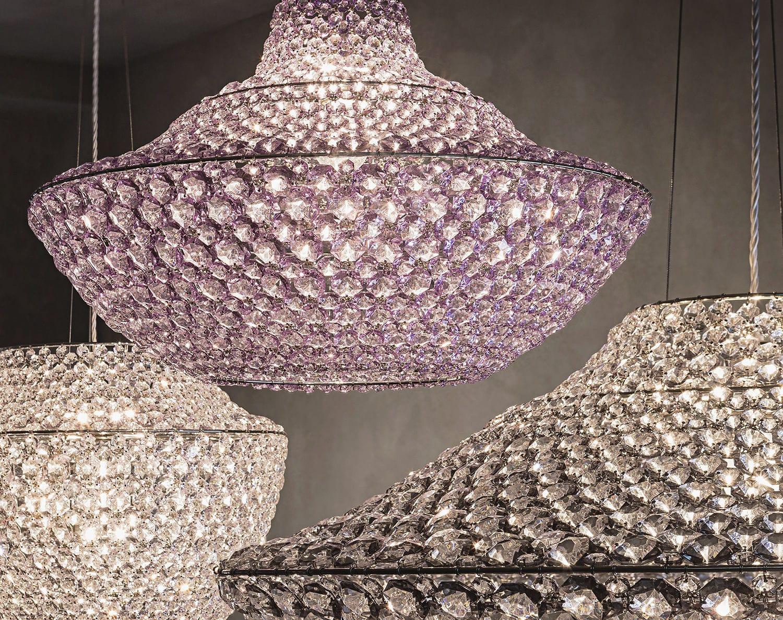 Lampada a sospensione / design originale / in cristallo / da ...