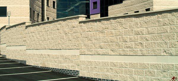Rivestimento di facciata in pietra naturale / testurizzato / in ...
