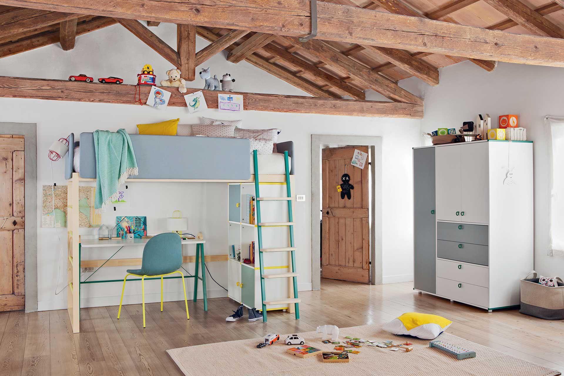 Letto soppalco bambini design : letto a baldacchino offerte. letto ...