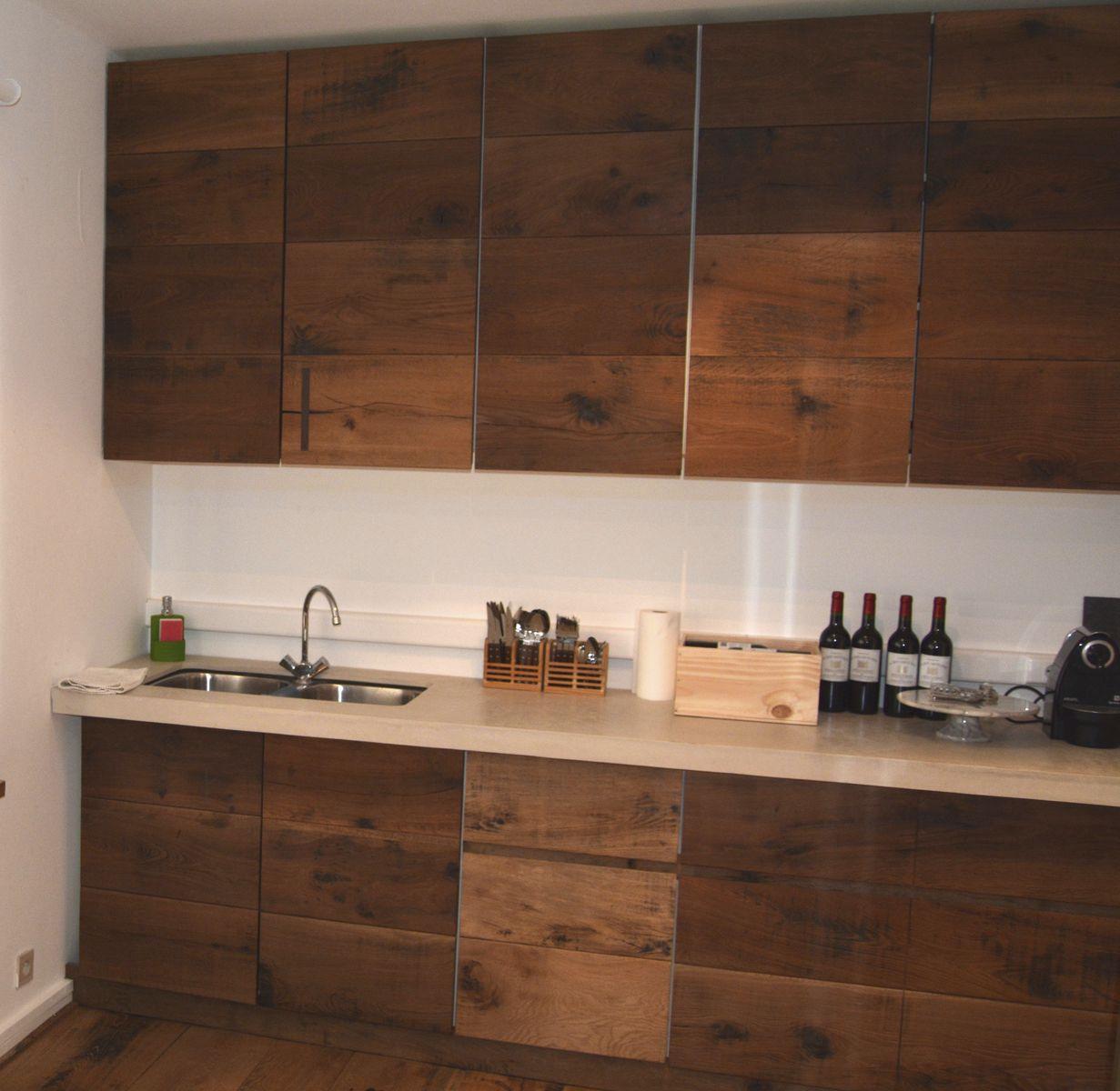 Pannello decorativo in legno / per cucina / da parete / di ...