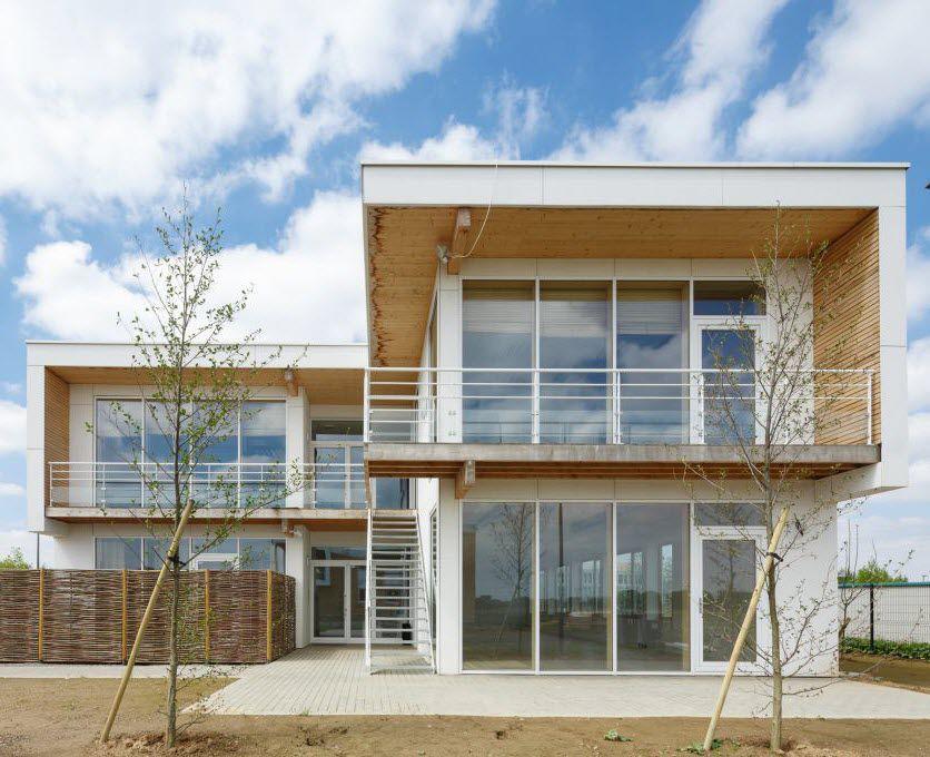 Ufficio In Legno Prefabbricato : Edificio prefabbricato per ufficio in legno con struttura in