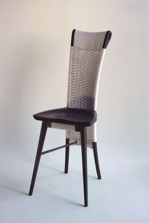 Sedia classica / con schienale alto / imbottita / in legno ...