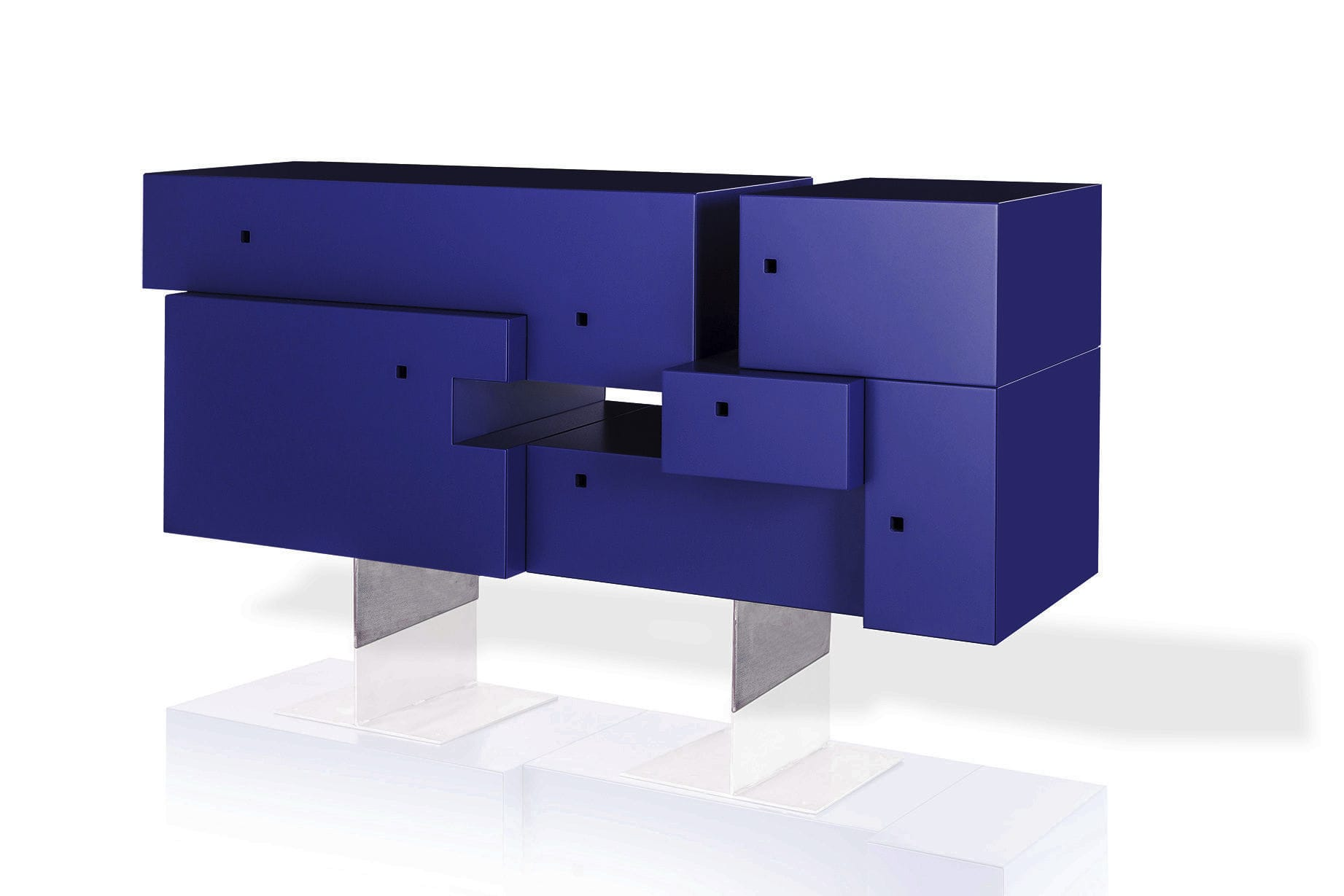 Credenza design originale in mdf laccato in metallo gili by