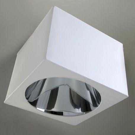Plafoniera Tessuto Quadrata : Plafoniera moderna quadrata in seta led m ipsilon