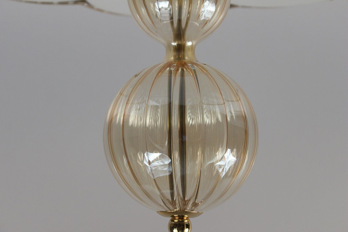 Plafoniera In Tessuto Classiche : Plafoniera classica in vetro soffiato tessuto plexiglas