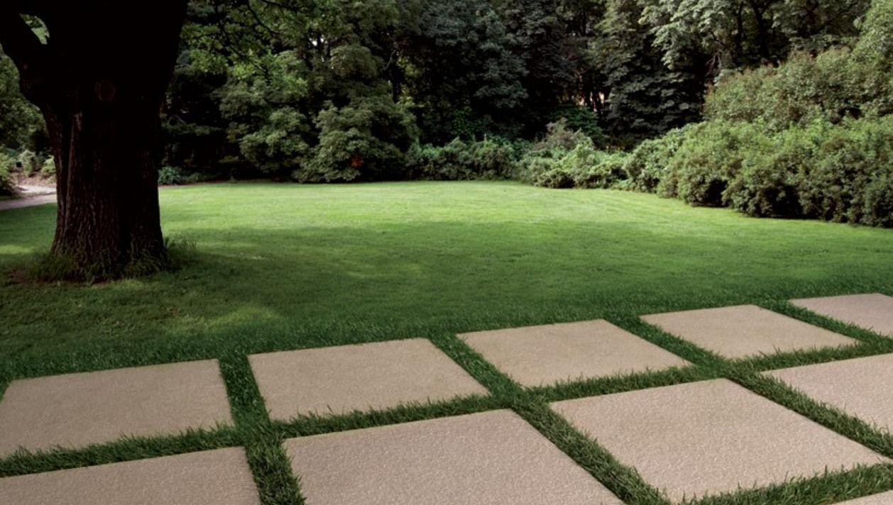 Piastrella da esterno da giardino da pavimento in gres